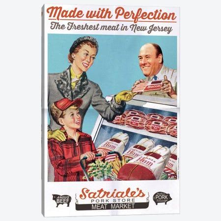 Satriale's Pork Store Canvas Print #DRD72} by David Redon Canvas Artwork