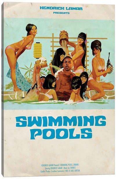 Swimming Pools Canvas Art Print