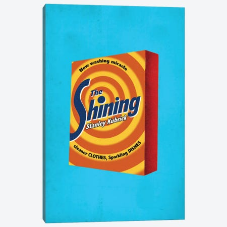 The Shining Popshot Canvas Print #DRD85} by David Redon Canvas Artwork