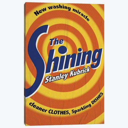 The Shining Poster Canvas Print #DRD86} by Ads Libitum Canvas Artwork
