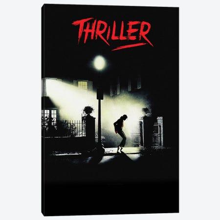 Thriller Canvas Print #DRD88} by Ads Libitum Art Print