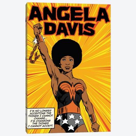Angela Canvas Print #DRD94} by Ads Libitum Canvas Print