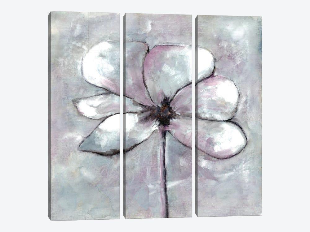 Cherished Bloom I by Doris Charest 3-piece Canvas Art Print