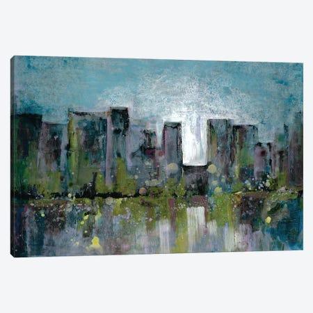 City Glow Canvas Print #DRI16} by Doris Charest Canvas Art