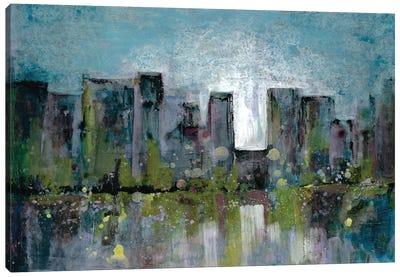 City Glow Canvas Art Print