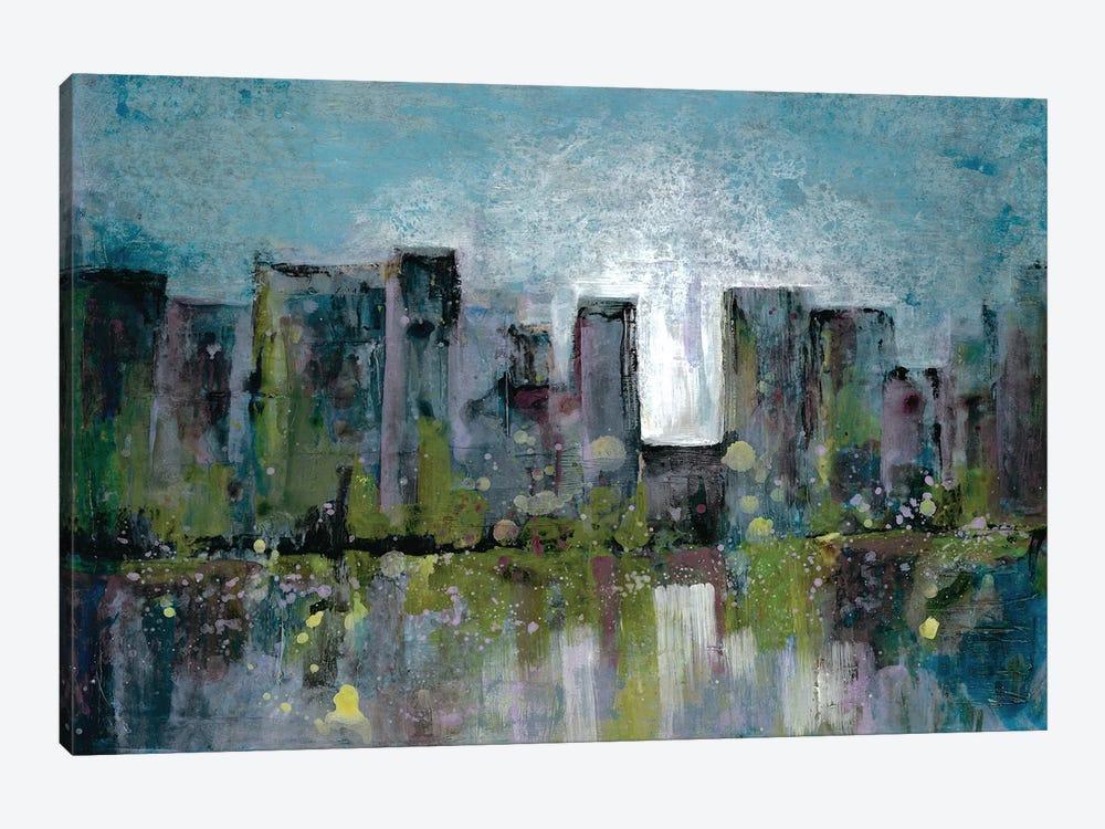 City Glow by Doris Charest 1-piece Canvas Wall Art