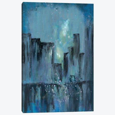 City Nights I Canvas Print #DRI17} by Doris Charest Canvas Artwork