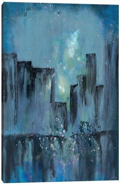 City Nights I Canvas Art Print