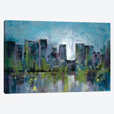 City Nights II Canvas Print #DRI18} by Doris Charest Canvas Art Print