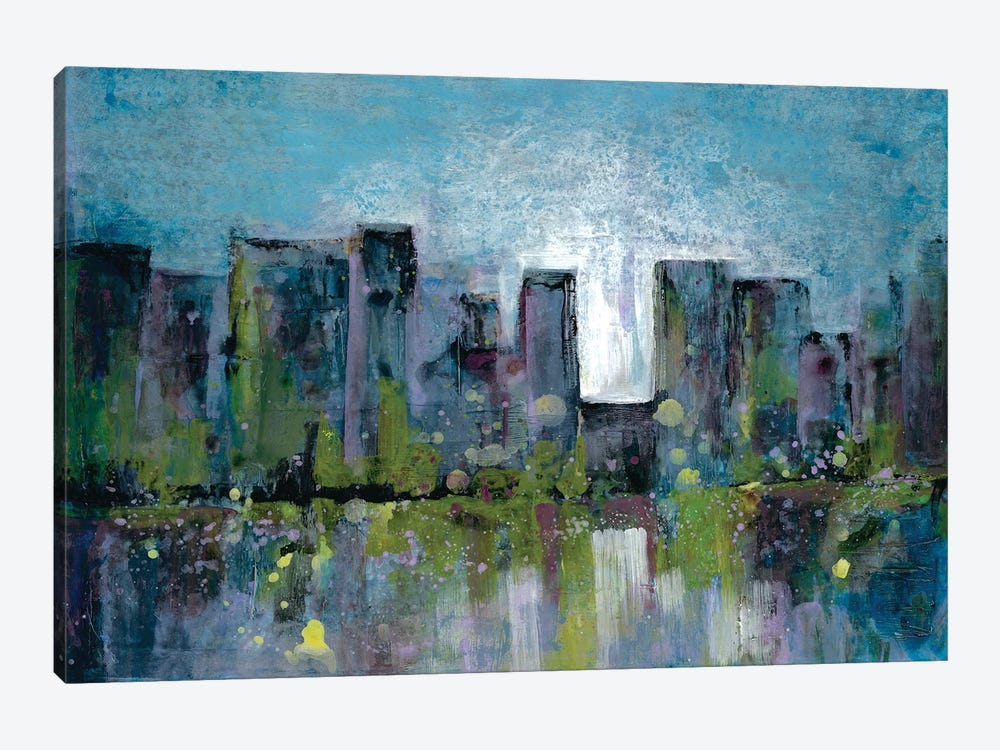 City Nights II by Doris Charest 1-piece Canvas Artwork