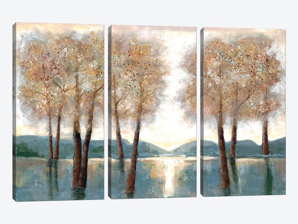 Approaching Autumn I by Doris Charest 3-piece Canvas Art Print