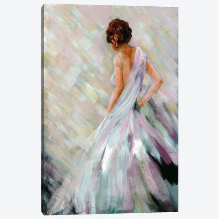 Dancing Queen II Canvas Print #DRI20} by Doris Charest Canvas Artwork