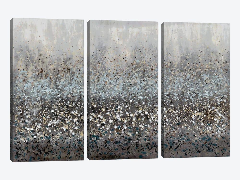 Drip Field I by Doris Charest 3-piece Canvas Art