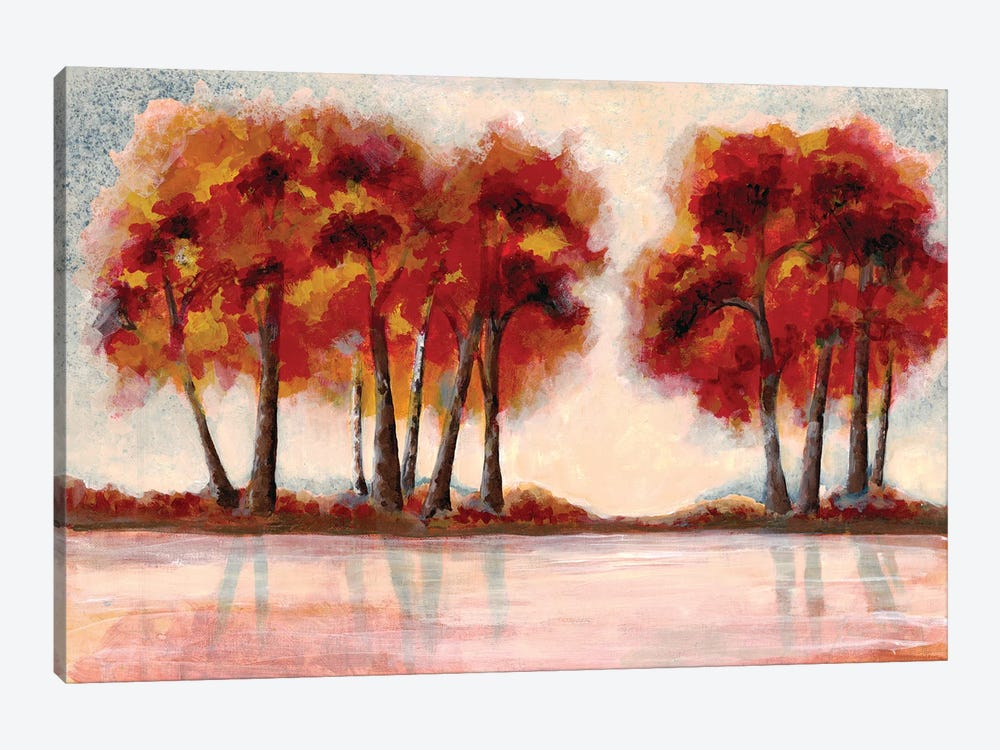 Fall Foliage II by Doris Charest 1-piece Canvas Print