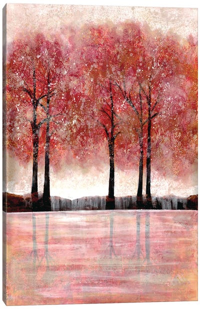 Forest Heat I Canvas Art Print