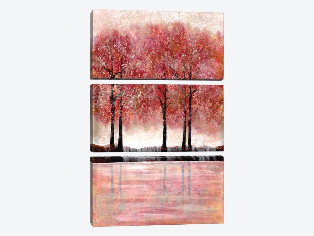 Forest Heat I by Doris Charest 3-piece Canvas Artwork