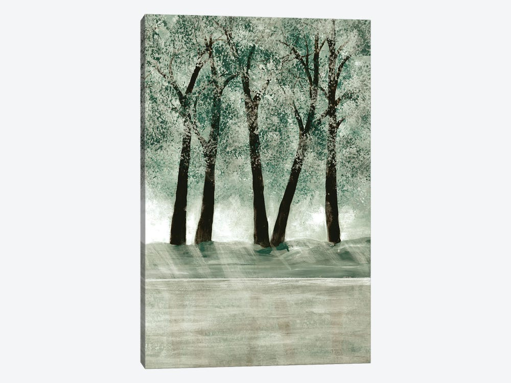 Green Forest III by Doris Charest 1-piece Canvas Print