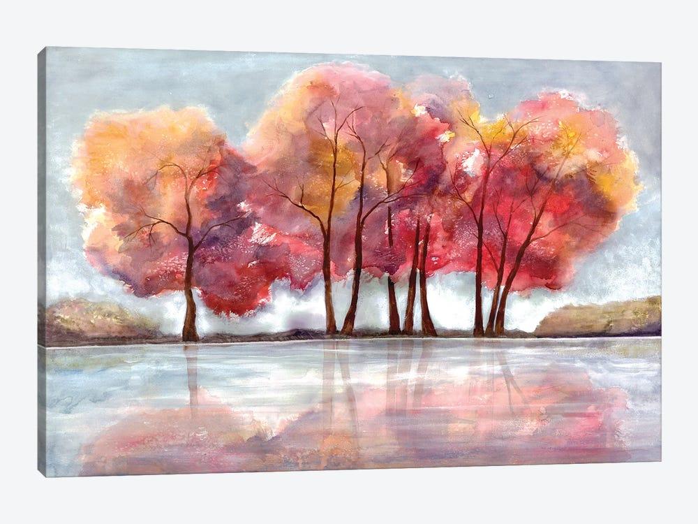 Lake Foliage by Doris Charest 1-piece Canvas Art
