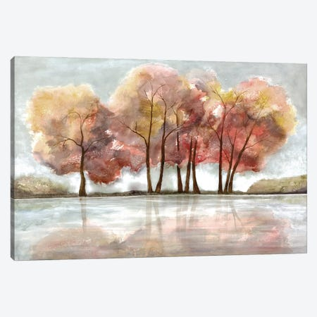 Lakeside Forest Canvas Print #DRI33} by Doris Charest Canvas Art Print