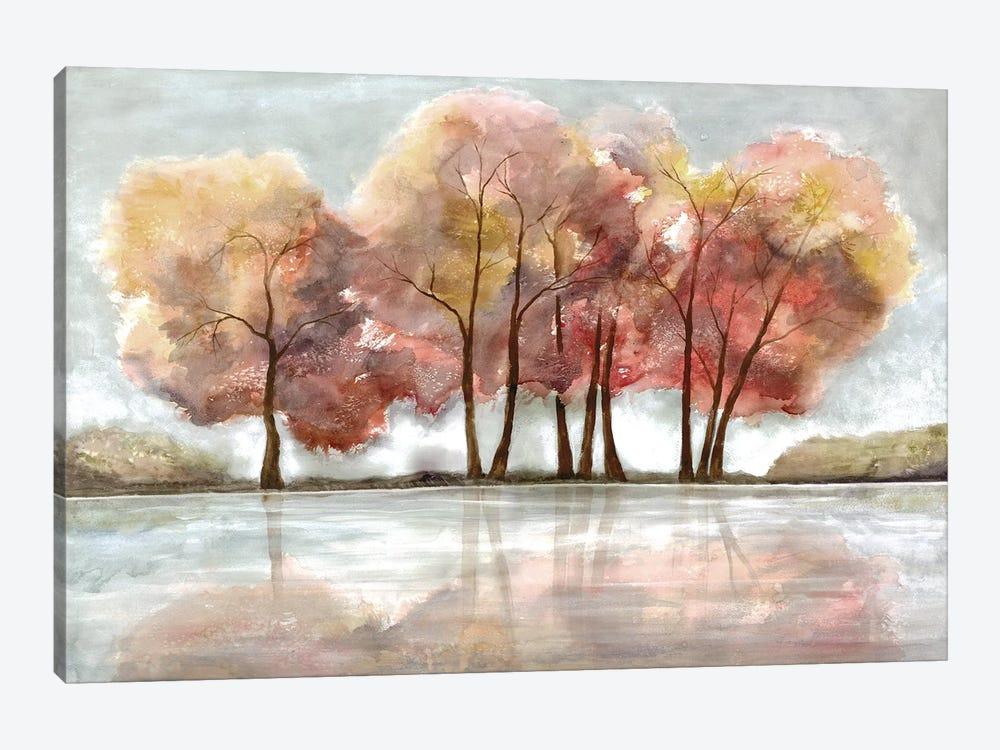 Lakeside Forest by Doris Charest 1-piece Canvas Print