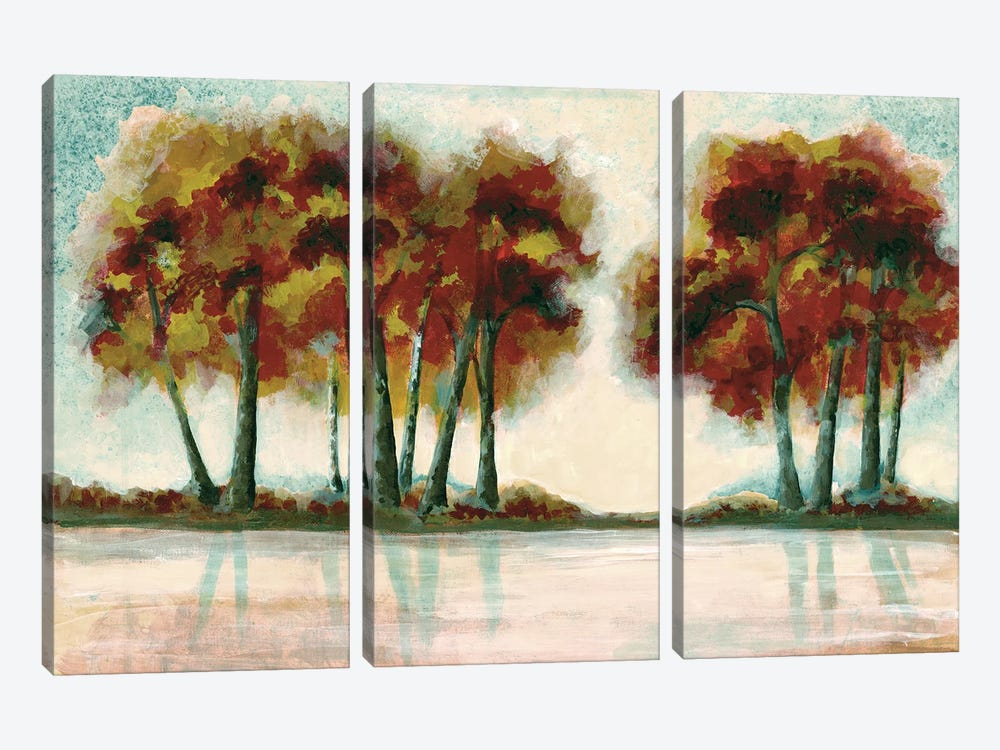 Peak Foliage by Doris Charest 3-piece Canvas Art