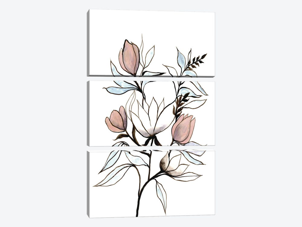 Rising Sprout I by Doris Charest 3-piece Art Print