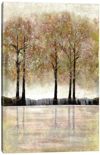 Serene Forest Canvas Art Print
