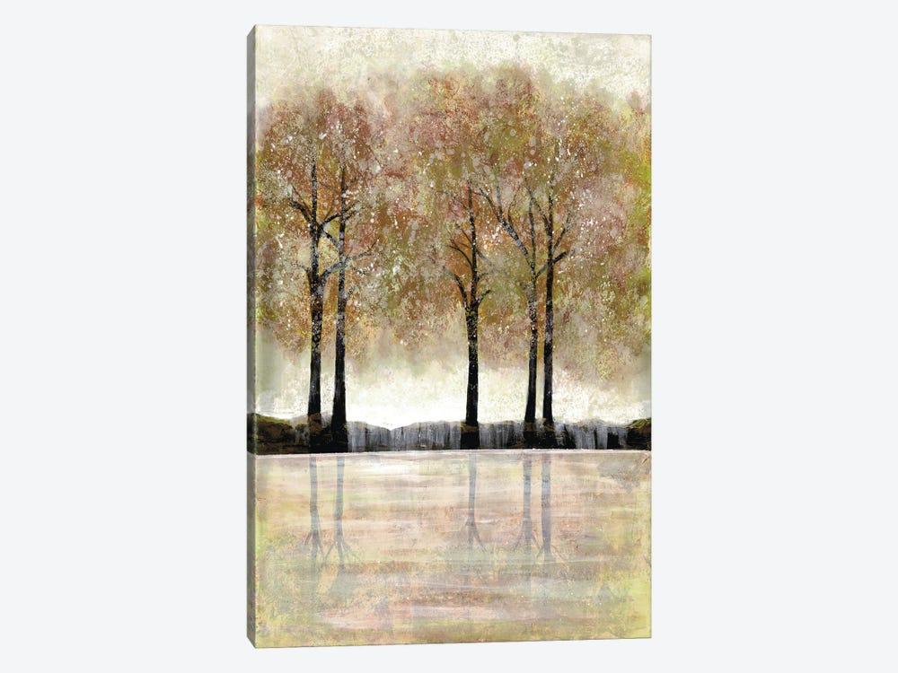 Serene Forest by Doris Charest 1-piece Canvas Art Print
