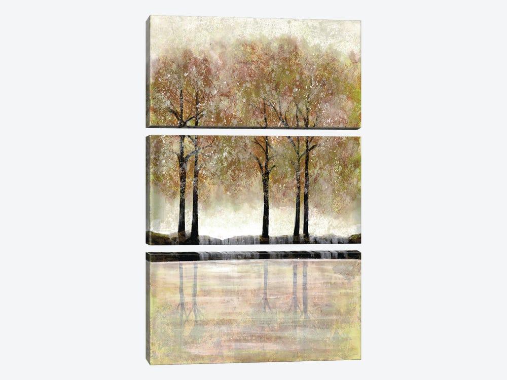 Serene Forest by Doris Charest 3-piece Canvas Print