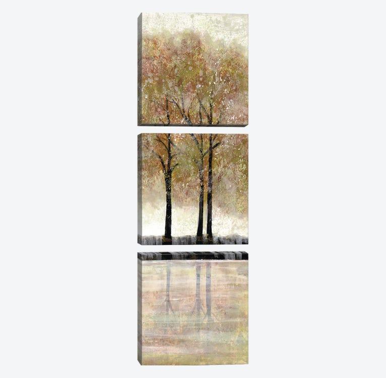 Serene Forest  III by Doris Charest 3-piece Canvas Artwork