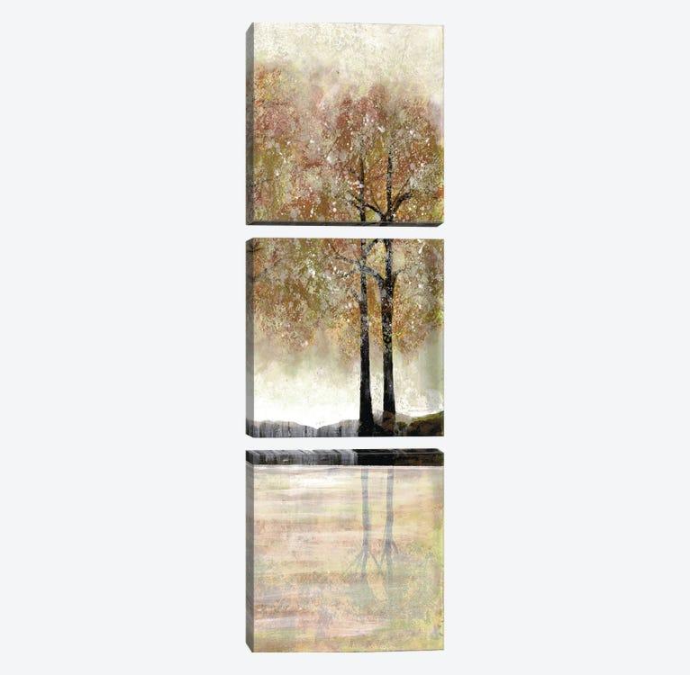 Serene Forest II by Doris Charest 3-piece Canvas Art Print