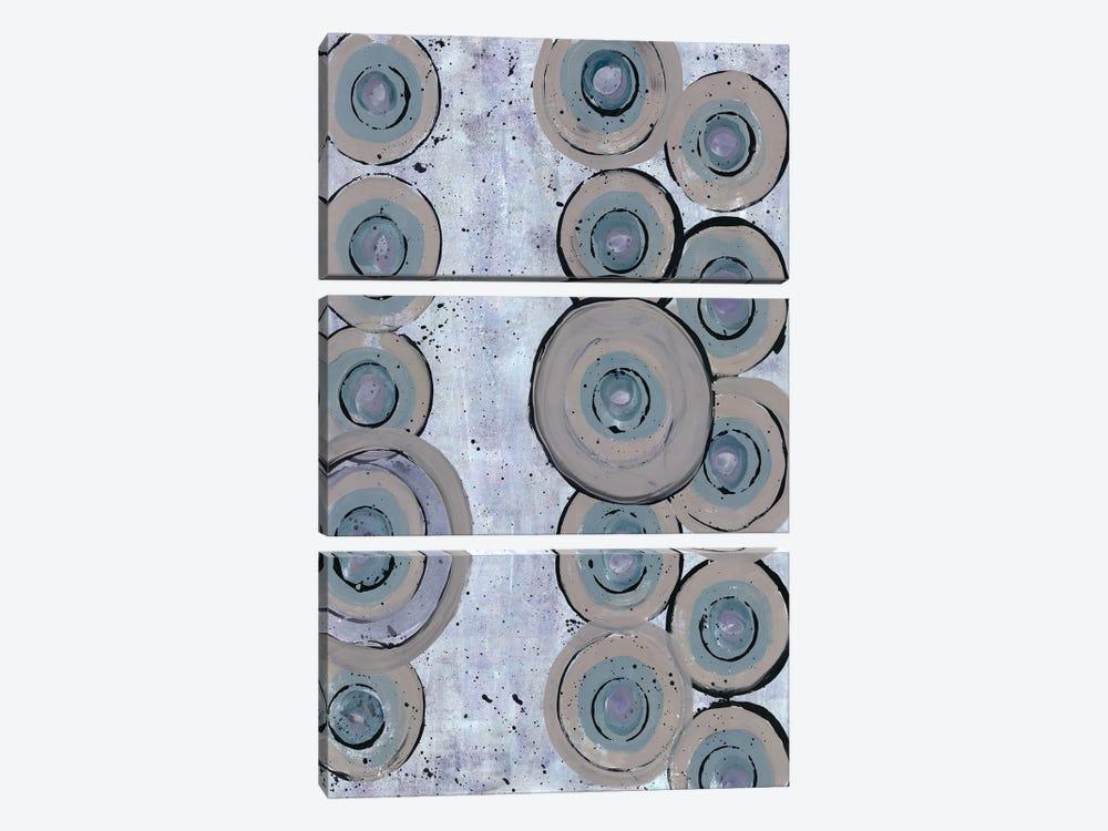 Succulent Spheres I by Doris Charest 3-piece Canvas Print