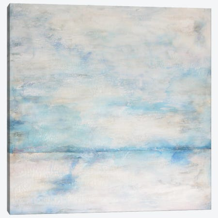 Whiteout I Canvas Print #DRI52} by Doris Charest Canvas Art Print