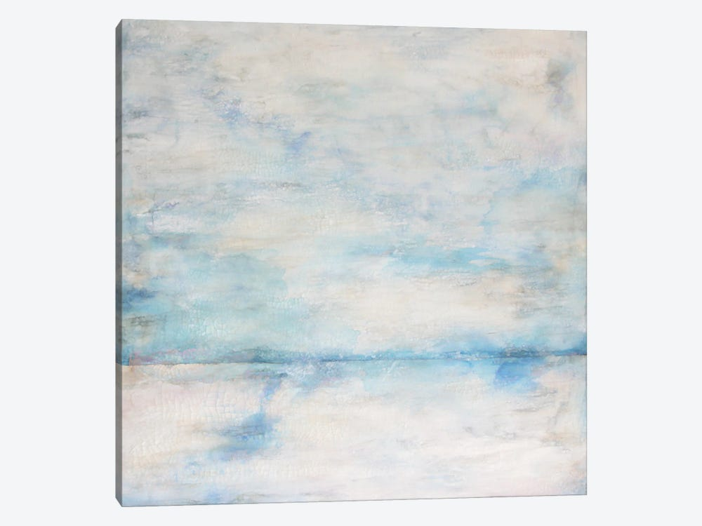 Whiteout I by Doris Charest 1-piece Canvas Wall Art