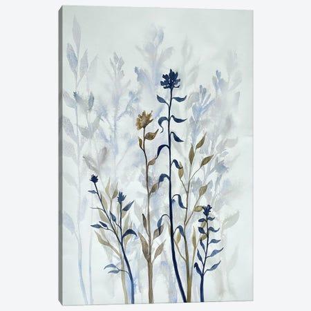 Blue Lit Growth I Canvas Print #DRI54} by Doris Charest Canvas Wall Art