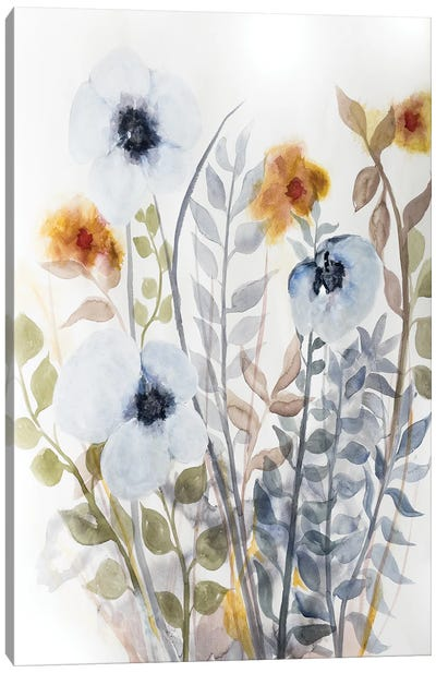 Floral Embrace I Canvas Art Print