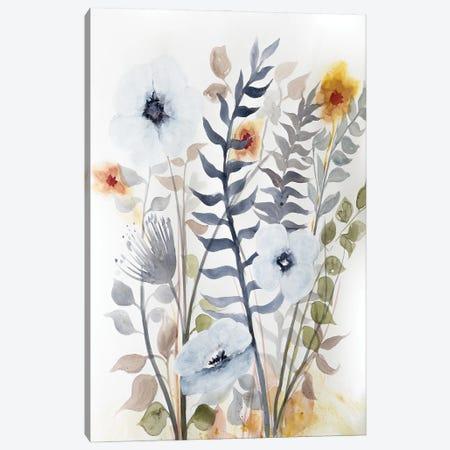 Floral Embrace II Canvas Print #DRI59} by Doris Charest Art Print