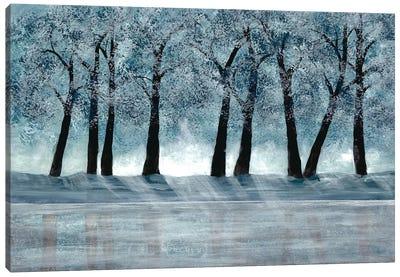 Blue Force I Canvas Art Print