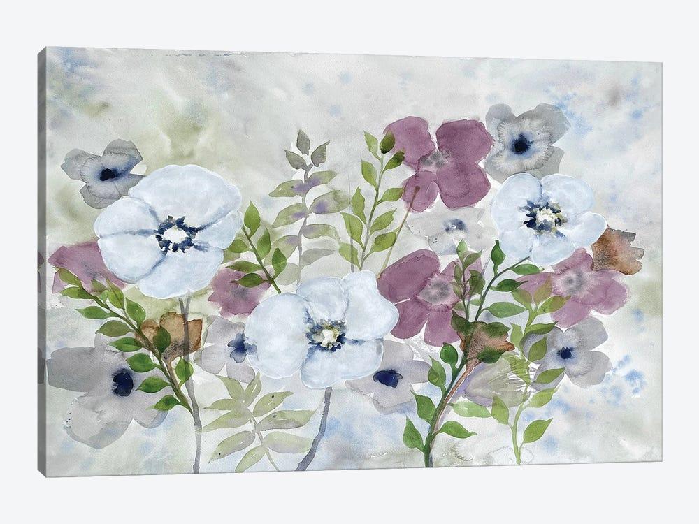 Floral Gossip I by Doris Charest 1-piece Art Print