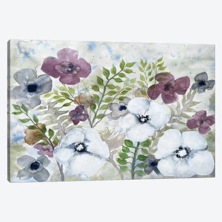 Floral Gossip II Canvas Print #DRI61} by Doris Charest Canvas Art