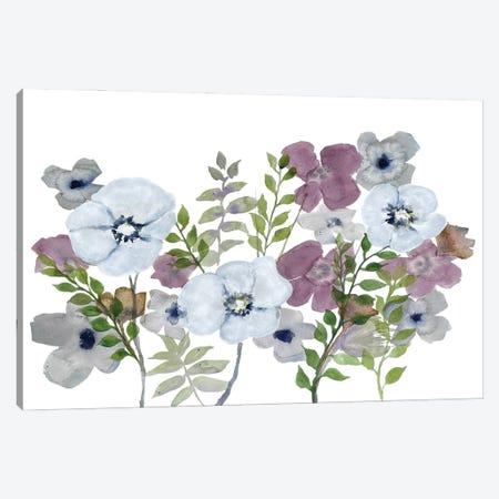 Floral Gossip III Canvas Print #DRI62} by Doris Charest Canvas Wall Art