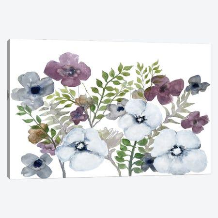 Floral Gossip IV Canvas Print #DRI63} by Doris Charest Canvas Wall Art