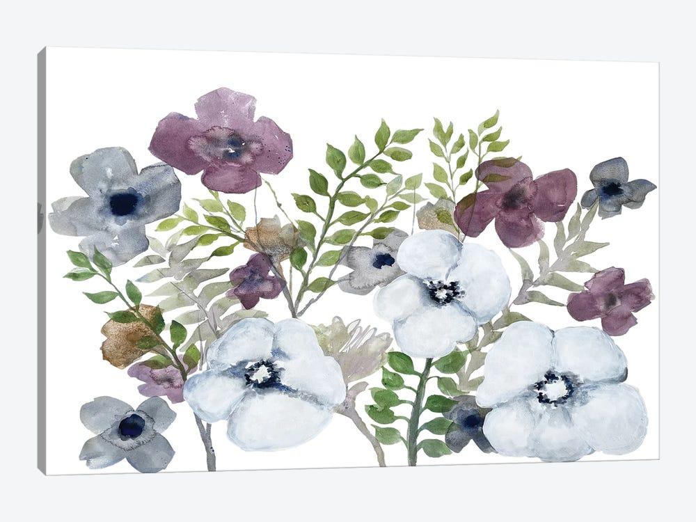 Floral Gossip IV by Doris Charest 1-piece Canvas Artwork