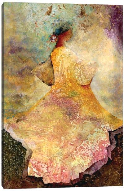 Flourished Dancer II Canvas Art Print