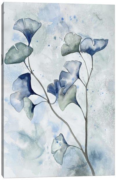 Moonlit Ginkos I Canvas Art Print