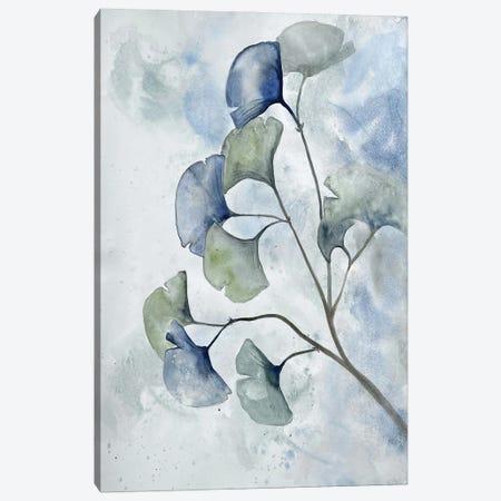 Moonlit Ginkos II Canvas Print #DRI69} by Doris Charest Canvas Art