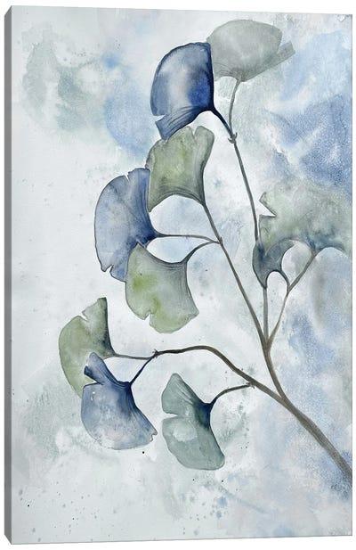 Moonlit Ginkos II Canvas Art Print