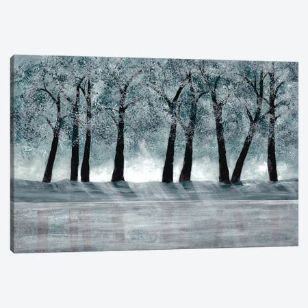 Blue Forest Canvas Print #DRI6} by Doris Charest Canvas Art