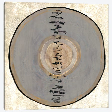 Oriental Disk II Canvas Print #DRI75} by Doris Charest Canvas Wall Art