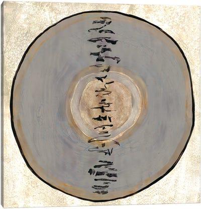 Oriental Disk II Canvas Art Print